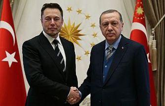 T.C Cumhurbaşkanı Erdoğan, Tesla ve SpaceX'in kurucusu Elon Musk ile telefon görüşmesi gerçekleştirdi