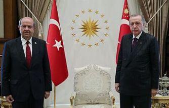 Cumhurbaşkanı Tatar, TC Cumhurbaşkanı Erdoğan ile telefonda konuştu