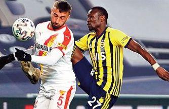 Fenerbahçe evinde kayıp: 1-0