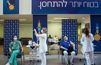 İsrail'de halkın yarısı aşılandı