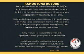 Kıbrıs-Sen'den kınama