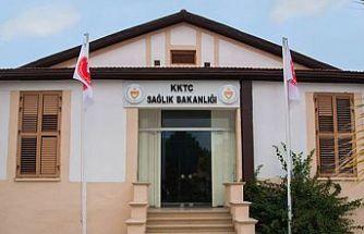 Lefkoşa Dr. Burhan Nalbantoğlu Devlet Hastanesi'nde bir çalışan pozitif