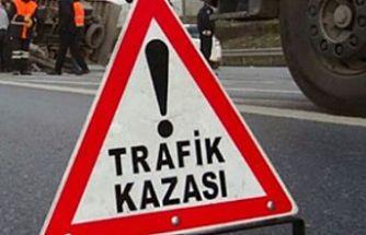 Son bir haftada meydana gelen 44 trafik kazasında 1 kişi öldü, 13 kişi yaralandı