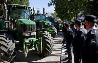 Çiftçiler Birliği eylemi tamamlandı