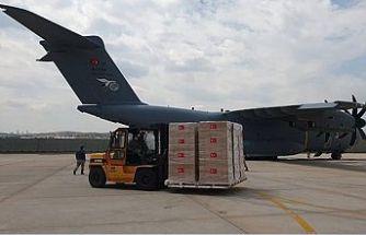 Türkiye'den Libya'ya 150 bin doz aşı götüren uçak yola çıktı