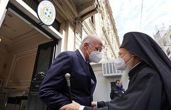 Yunanistan Dışişleri Bakanı Dendias İstanbul'da Fener Rum Patriği Bartholomeos'la görüştü