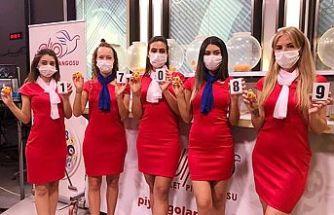 700 Bin Tl'lik piyango bileti Lefkoşa'da satıldı