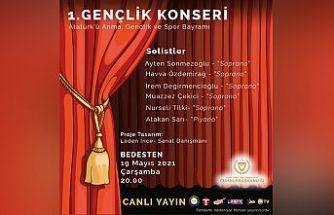 """Cumhurbaşkanlığı Himayelerinde yarın """"1. Gençlik Konseri"""" düzenlenecek"""