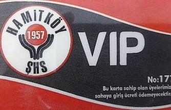 Hamitköy'de taraftar kartları satışta