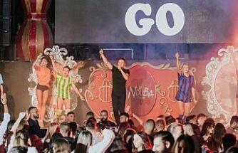 Dans, şov, eğlence La Nouba'da