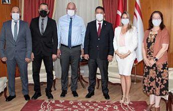 Başbakan Saner Dış Basın Birliği'ni kabul etti