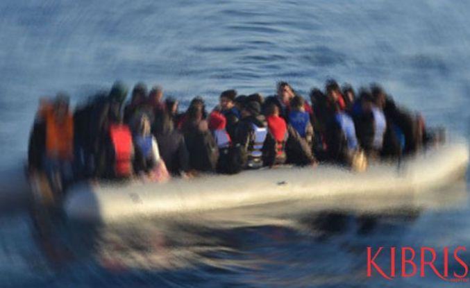 Baf açıklarında düzensiz göçmen
