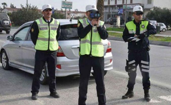 Trafik kontrollerinde 1285 araç rapor edildi