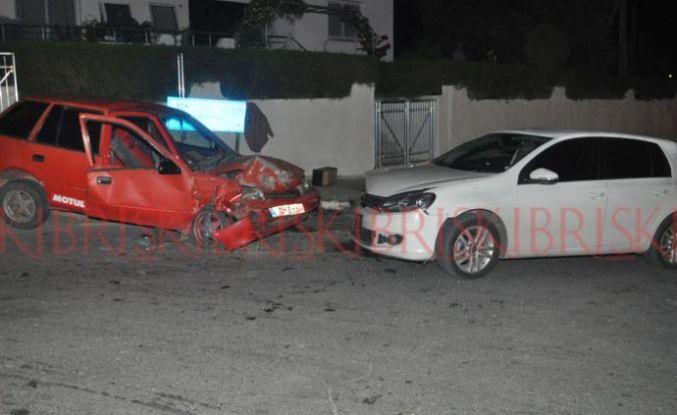 3 kazada 5 kişi yaralandı