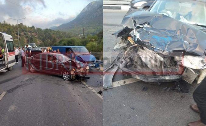 Ciklos'ta kaza: 2 yaralı