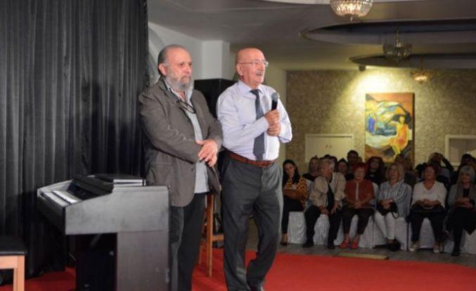 """""""Genco Erkal ile Nazım Hikmet Şiirleri"""" etkinliğini Dome Otel'de yapıldı"""