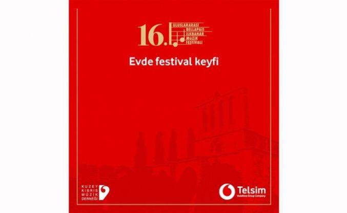 Bellapaıs İlkbahar Müzik Festivali de ev ortamına taşındı