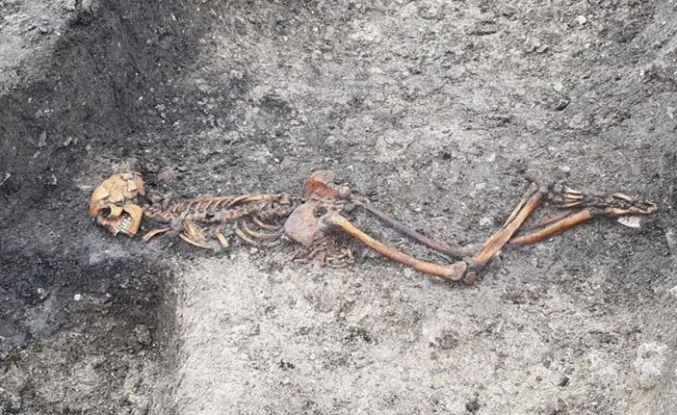 Hızlı tren kazısı, 2 bin 500 yıllık cinayeti ortaya çıkardı