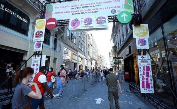 Belçika'da Kovid-19 vaka sayısı 71 bini aştı