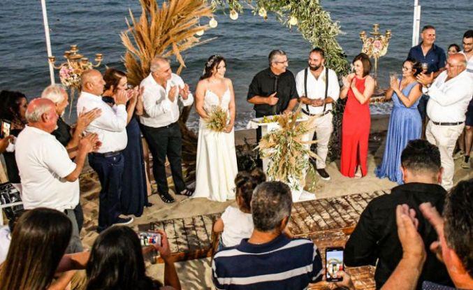 Hayal edilen düğün için Mimoza Beach Hotel