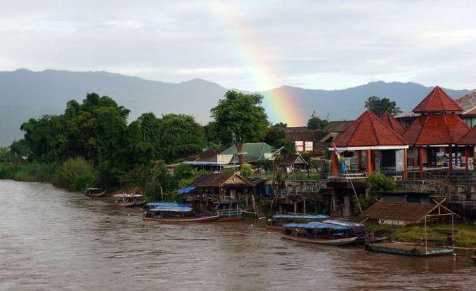 Tayland'ın mistik kasabası Tha Ton