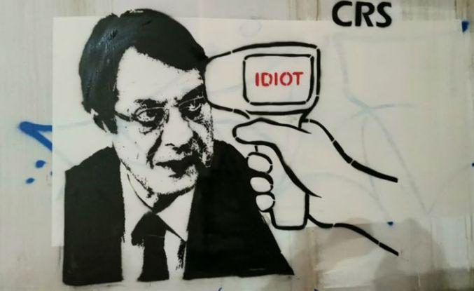 Lefkoşa Rum kesimi sokaklarında Anastasiadis'e yeni mesaj