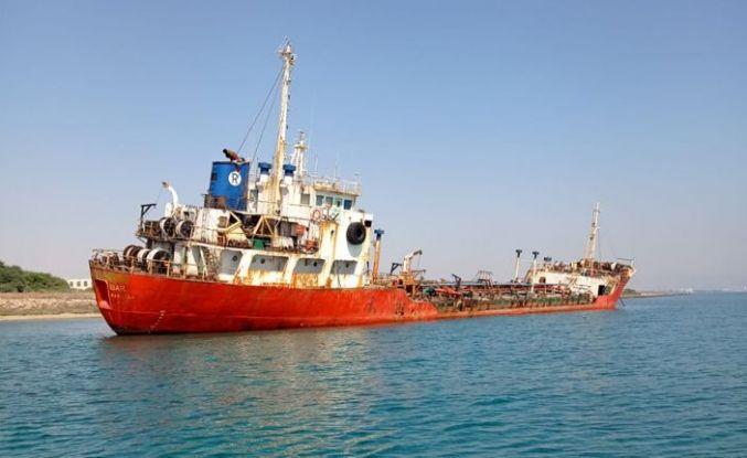 Gülseren bölgesinde karaya oturan tankeri kurtarma çalışmaları sürüyor