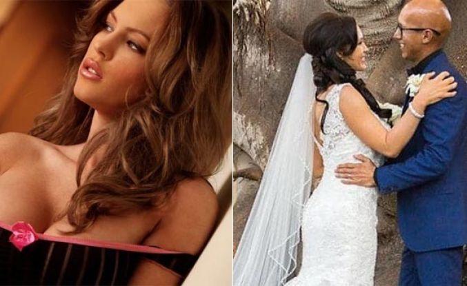 Ünlü porno yıldızı bir papazla evlendi