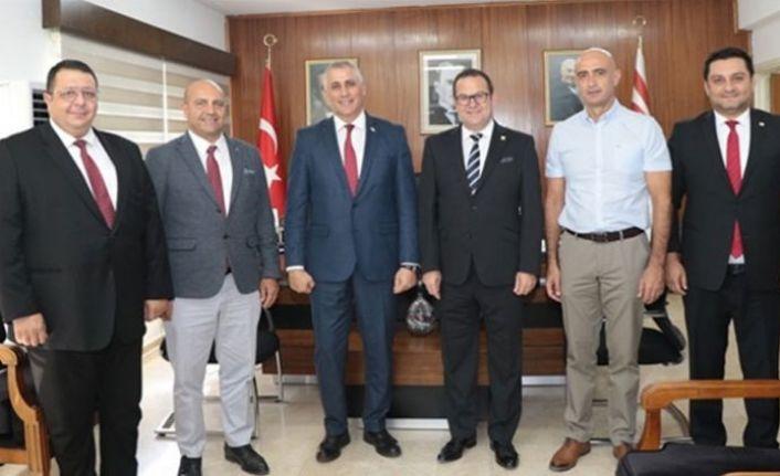 Amcaoğlu Kıbrıs Türk Ticaret Odası'nı kabul etti