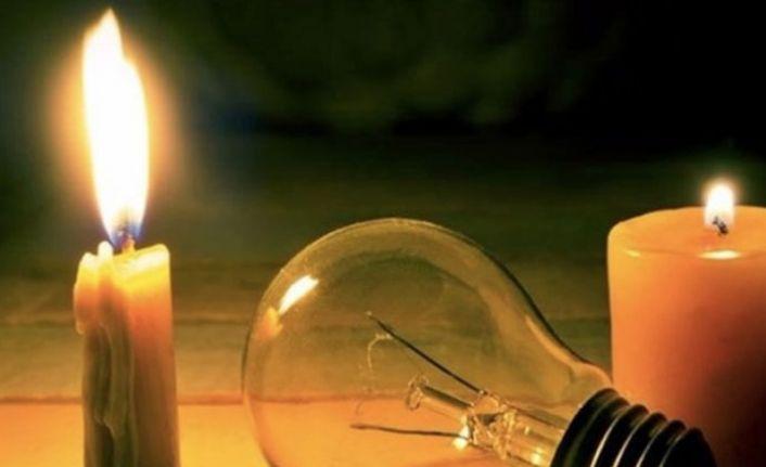 Yarın bazı köylerde elektrik kesintisi olacak