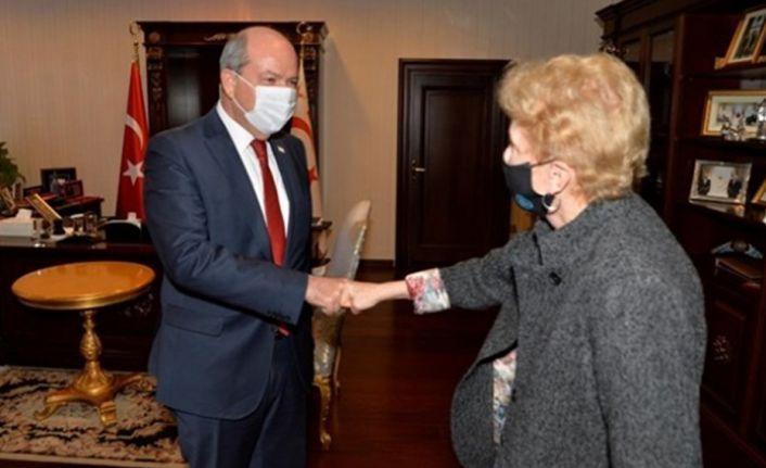 Cumhurbaşkanı Tatar Lute'la bir araya geldi