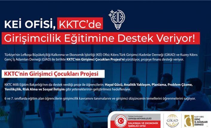 KEİ ofisi, KKTC'de girişimcilik eğitimine destek veriyor