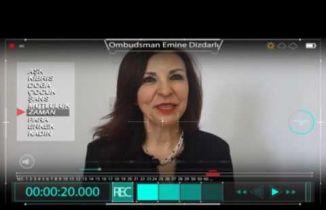 8 Mart Özel - Ombudsman Emine DİZDARLI